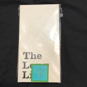 Kate Spade The Long List Note Pad